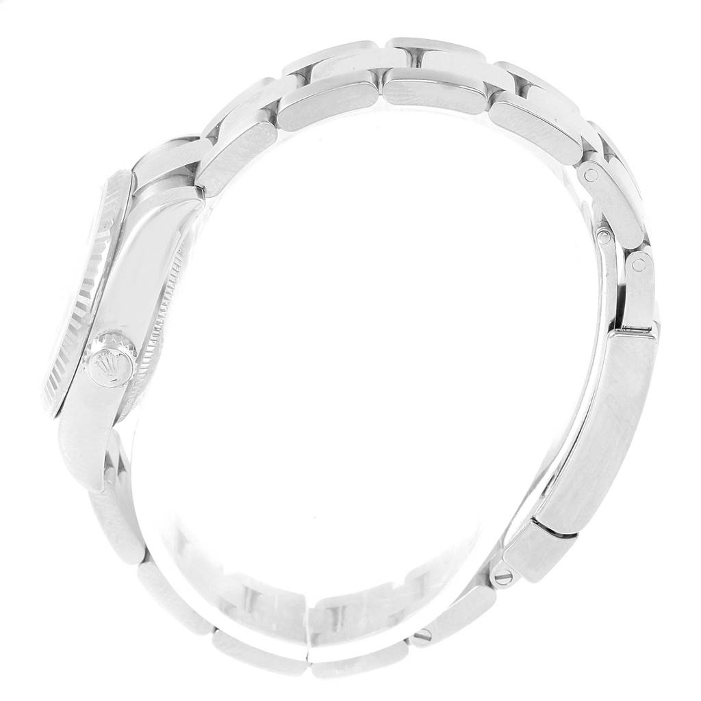 17552 Rolex Datejust 26 Steel White Gold Oyster Bracelet Ladies Watch 179174 SwissWatchExpo