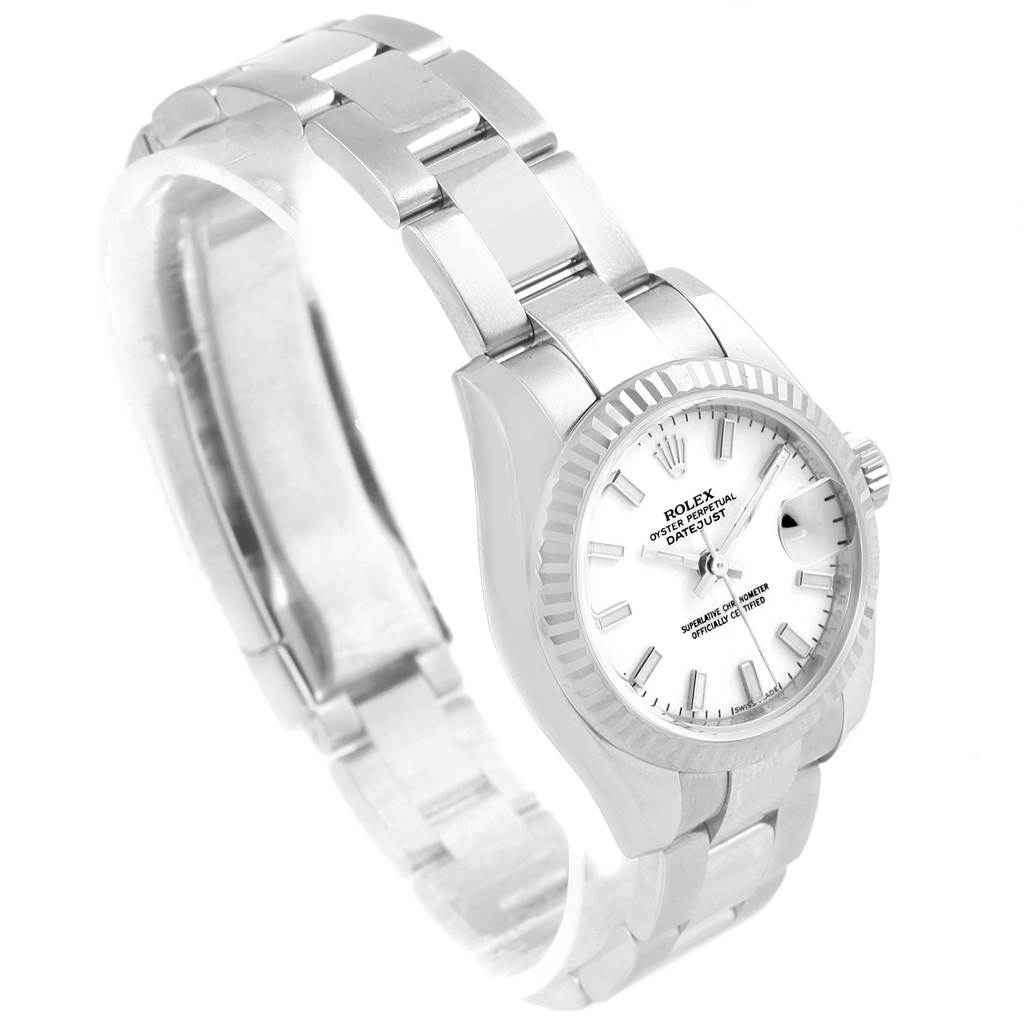 17552 Rolex Datejust 26 Steel White Gold Oyster Bracelet Ladies Watch 179174 SwissWatchExpo