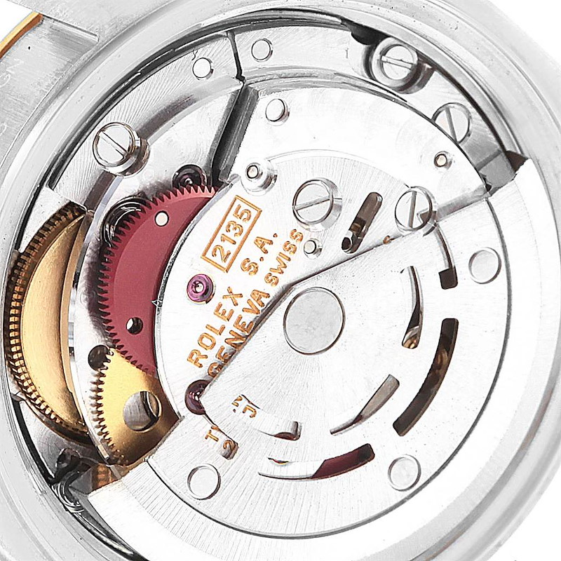 Rolex Datejust 26mm Yellow Gold Steel Diamond Dial Womens Watch 69173 SwissWatchExpo
