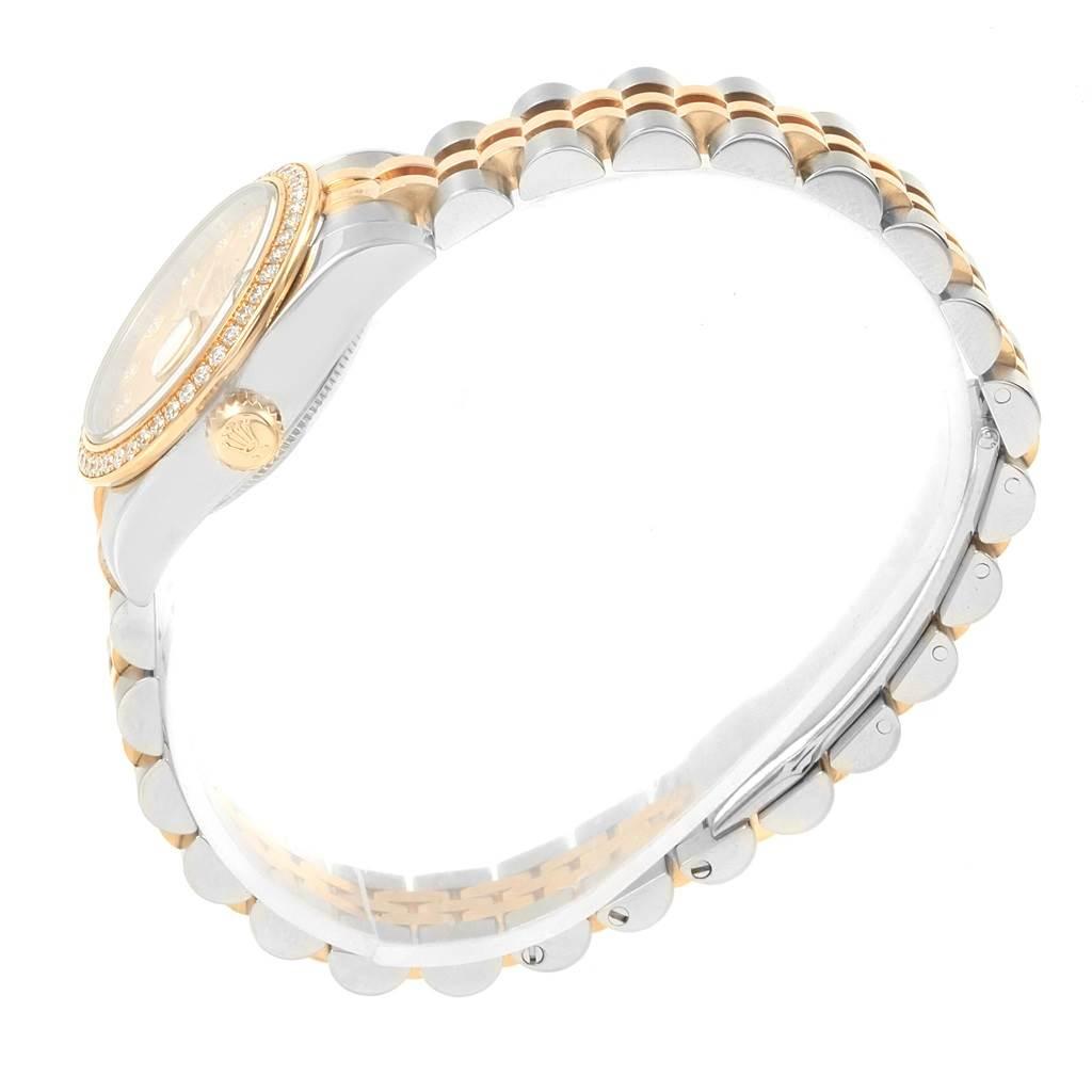 18250 Rolex Datejust 26 Steel Yellow Gold Diamond Ladies Watch 179383 Box Card SwissWatchExpo