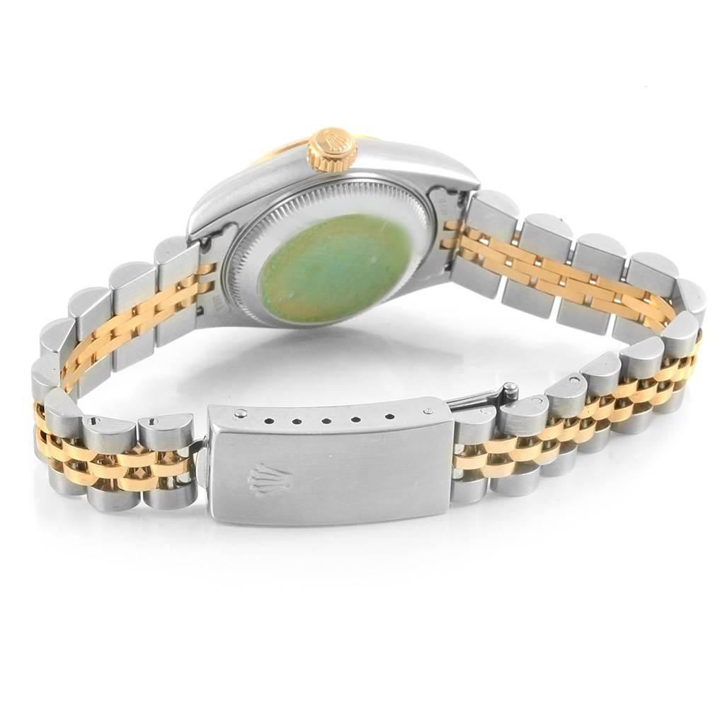 Rolex Datejust Steel Yellow Gold Roman Dial Ladies Watch 79173 Box Papers SwissWatchExpo