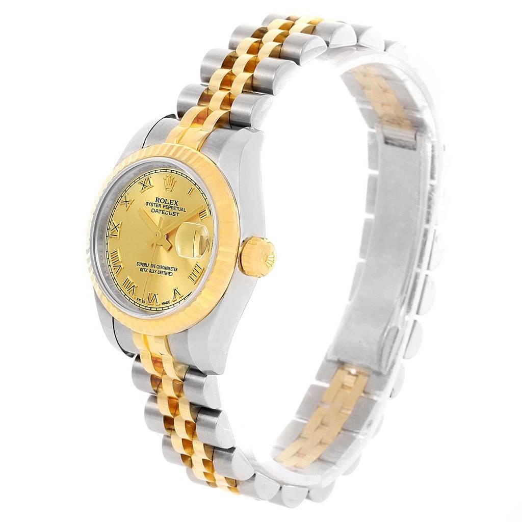 Rolex Datejust Ladies Steel Yellow Gold Jubilee Bracelet ...
