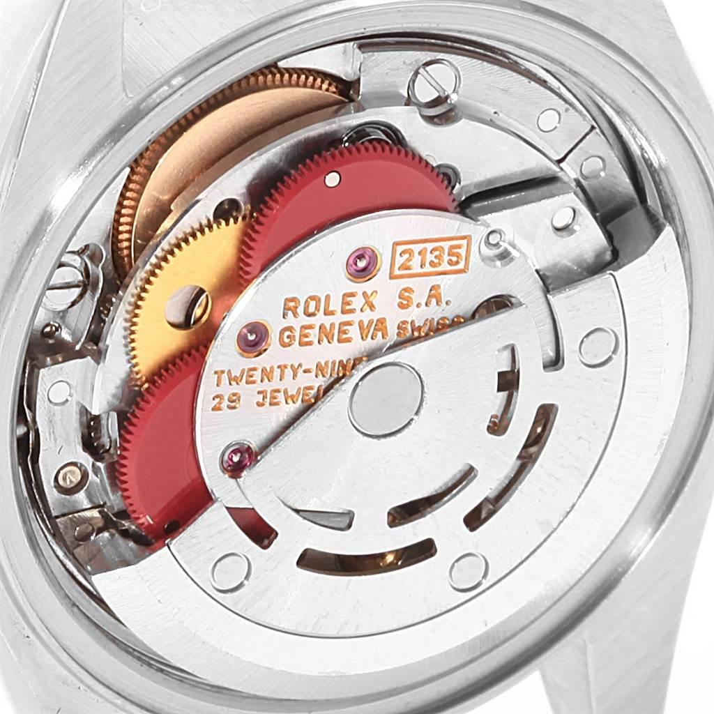 Rolex Datejust Steel Yellow Gold Slate Roman Dial Ladies Watch 69173 SwissWatchExpo