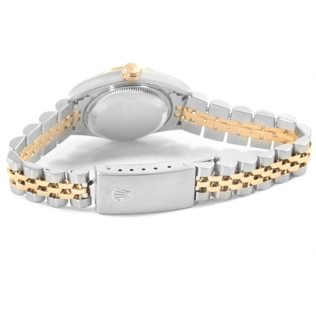 Rolex Datejust 26 Steel Yellow Gold Slate Dial Ladies Watch 79173 SwissWatchExpo