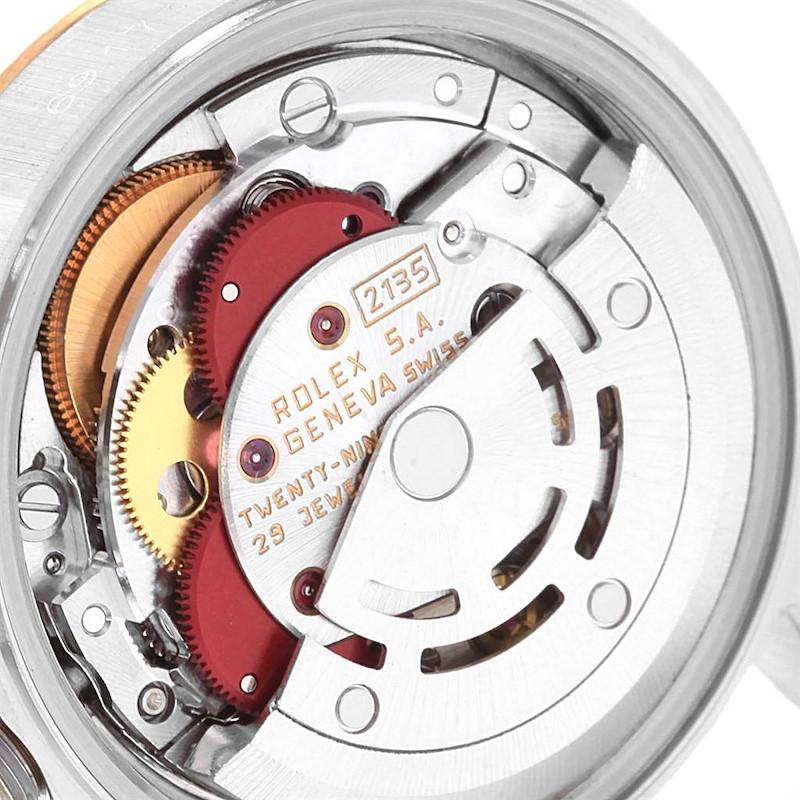Rolex Datejust 26mm Steel Yellow Gold Silver Dial Ladies Watch 69173 SwissWatchExpo