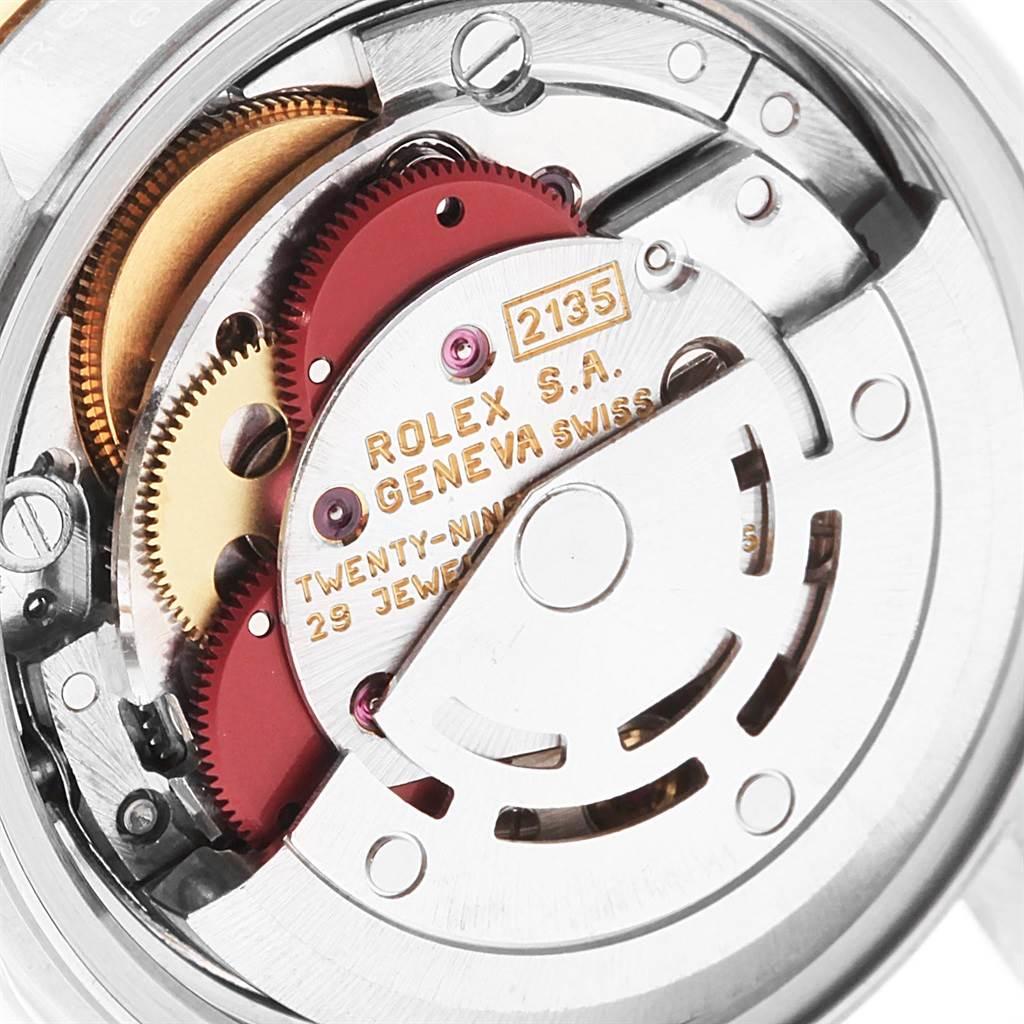 Rolex Datejust Steel Yellow Gold Ladies Watch 69163 Box Papers SwissWatchExpo