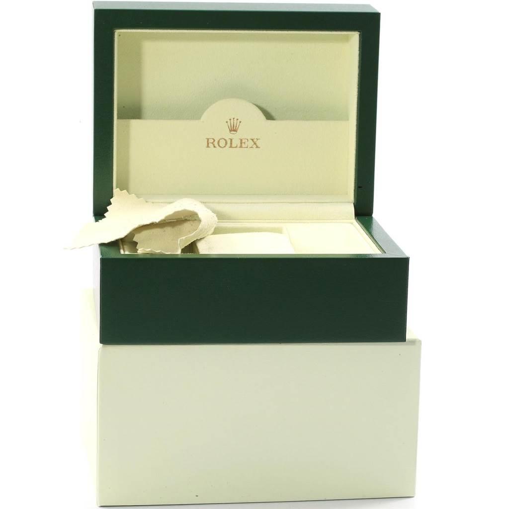 Rolex Datejust 26 White Dial Oyster Bracelet Ladies Watch 179160 SwissWatchExpo