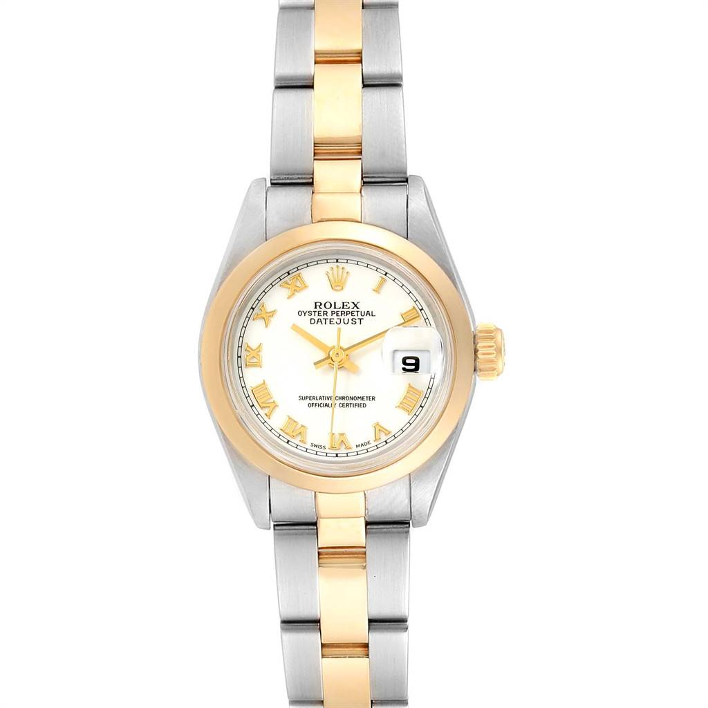Rolex Datejust 26 Steel Yellow Gold Ladies Watch 69163 Box Papers SwissWatchExpo