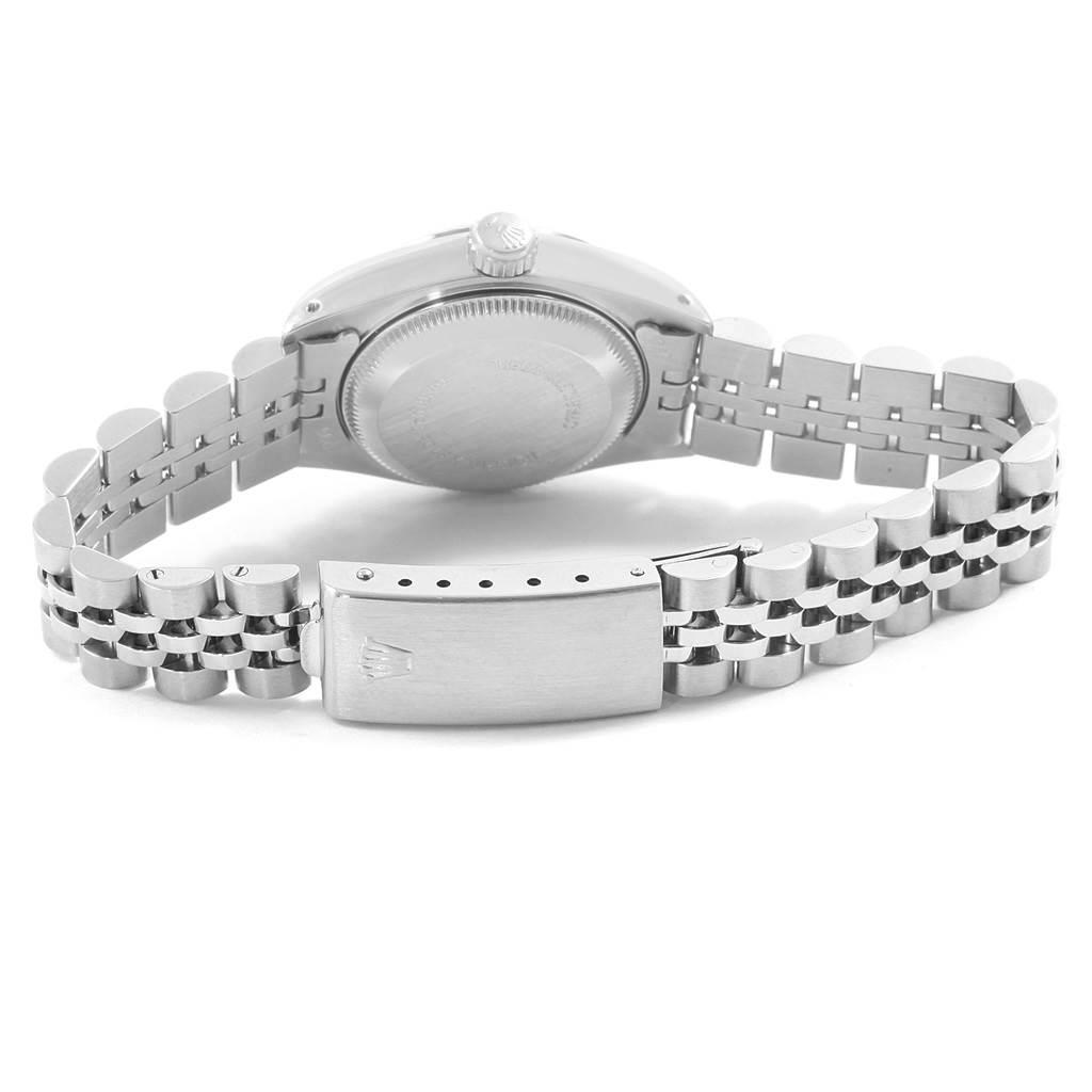 Rolex Datejust 26 Steel 18K White Gold Ladies Watch 69174 Box papers SwissWatchExpo