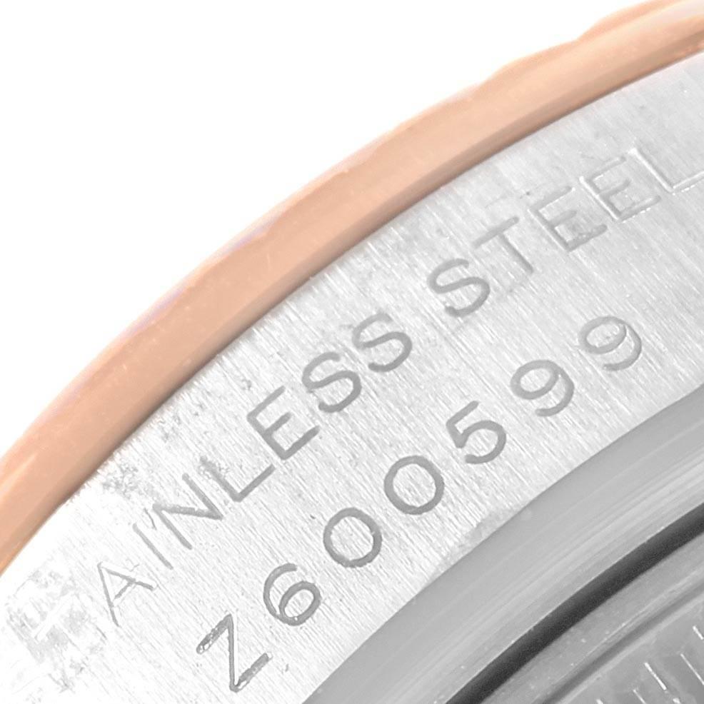 19075 Rolex Datejust 26 Ladies Steel EveRose Gold MOP Roman Dial Watch 179171 SwissWatchExpo