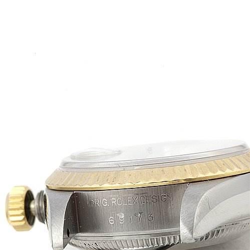 2264 Rolex Datejust Ladies Ss & 18k Gold Diamond Watch 69173 SwissWatchExpo