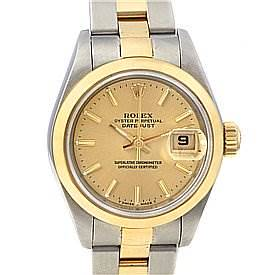Photo of Rolex Datejust Ladies Ss & 18k Yellow Gold 79163