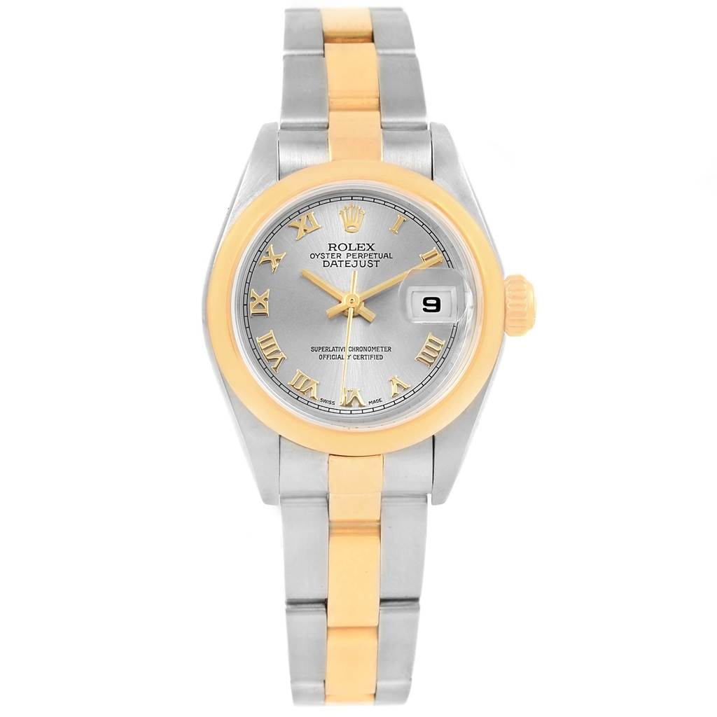 Rolex Datejust Steel Yellow Gold Ladies Watch 79163 Box papers SwissWatchExpo