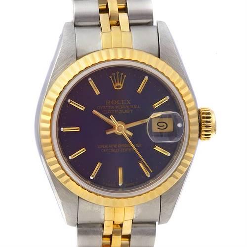 Photo of Rolex Datejust 69173 Ss & 18k Yellow Gold Ladies Watch