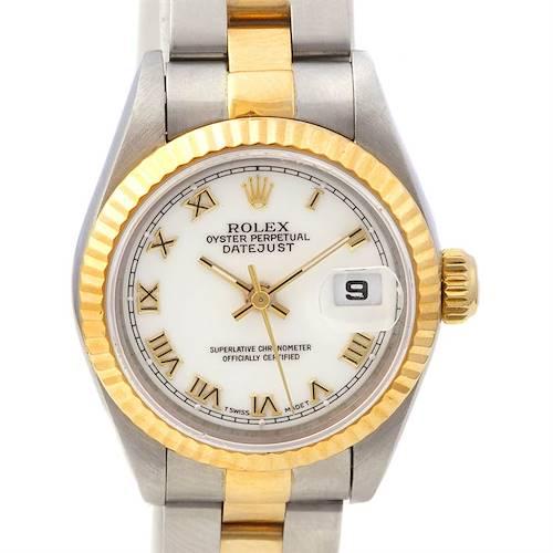 Photo of Rolex Datejust Ladies Ss & 18k Yellow Gold Watch 69173