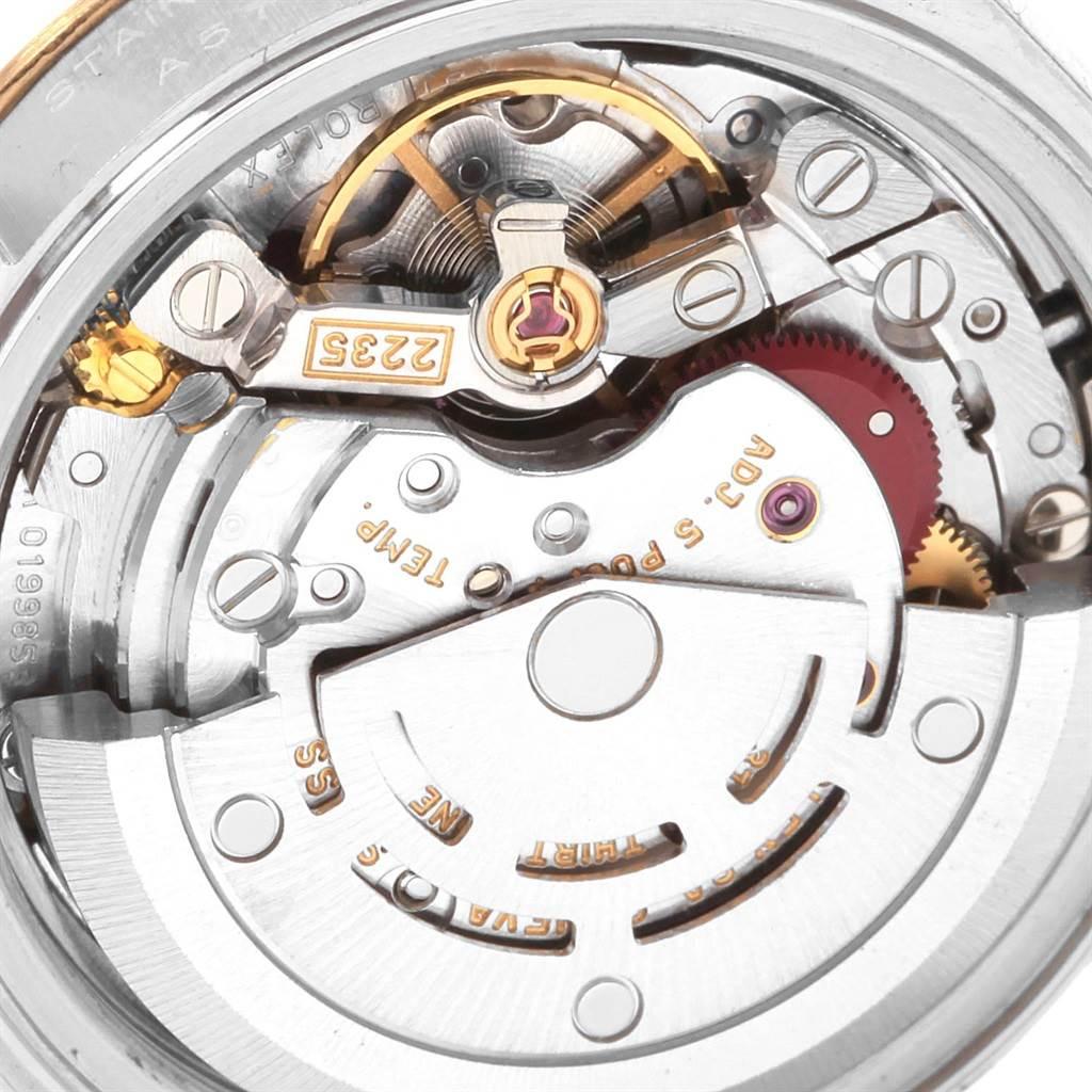 Rolex Datejust 26 Steel Yellow Gold MOP Diamond Watch 79173 Box Papers SwissWatchExpo