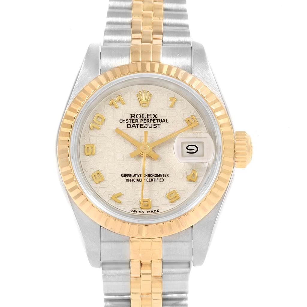 Rolex Datejust 26 Steel Yellow Gold Ladies Watch 69173 Box SwissWatchExpo