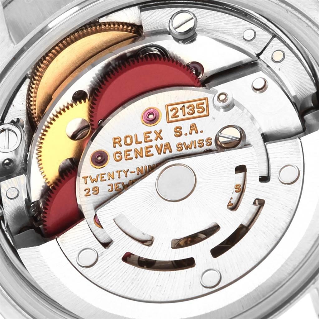 20090 Rolex Datejust 26 Steel White Gold Fluted Bezel Ladies Watch 69174 SwissWatchExpo
