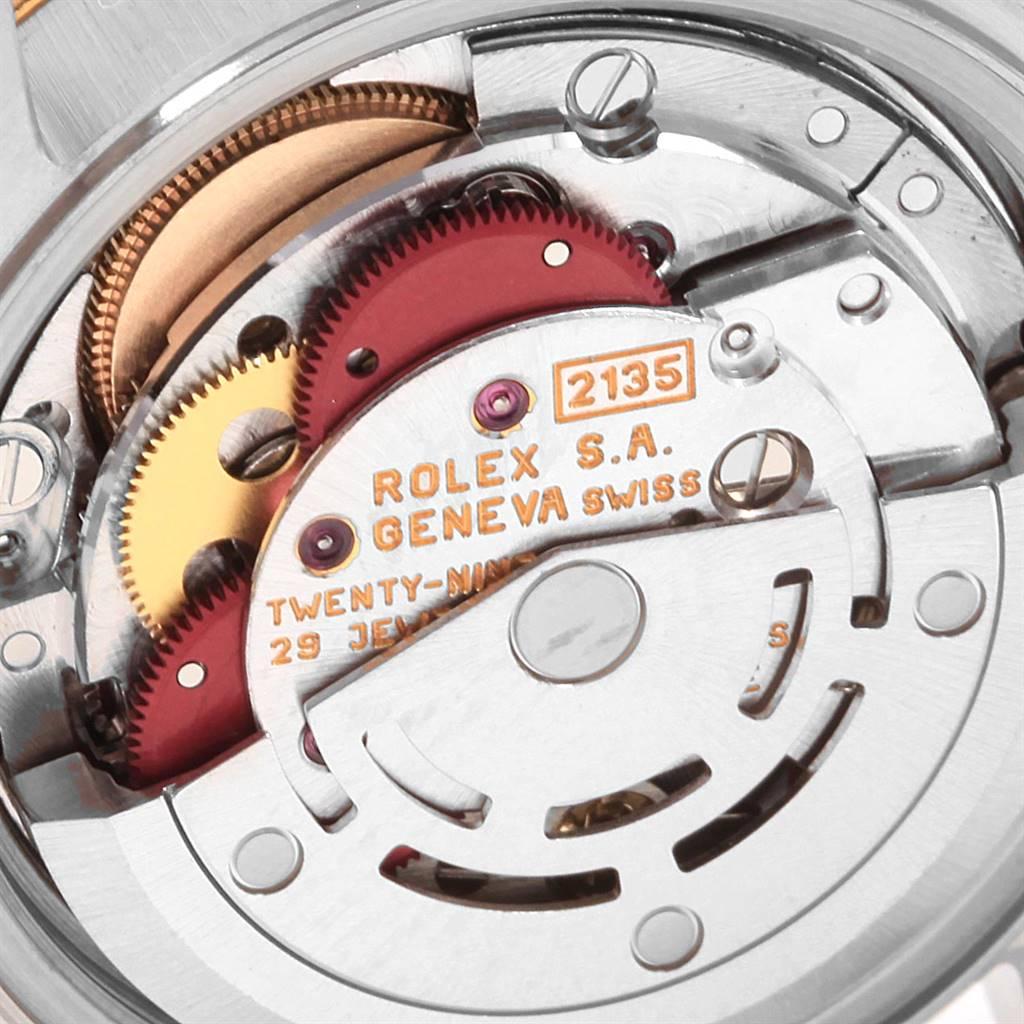 Rolex Datejust Steel Yellow Gold Tapestry Dial Ladies Watch 69163 SwissWatchExpo