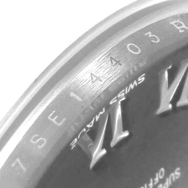 Rolex Datejust 28 Steel White Gold Ladies Watch 279174 Box Card SwissWatchExpo