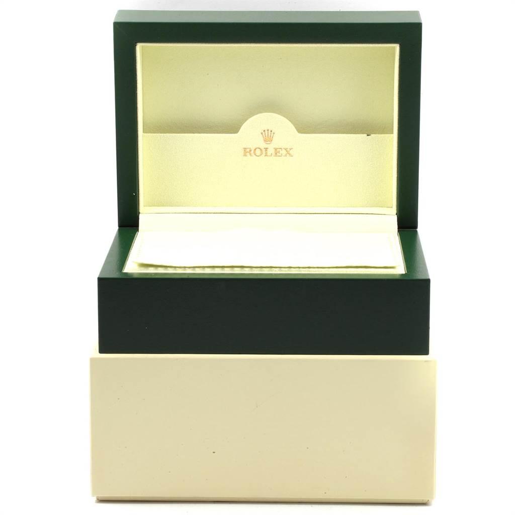 21443 Rolex Datejust Steel White Gold Black Diamond Dial Ladies Watch 179174 SwissWatchExpo