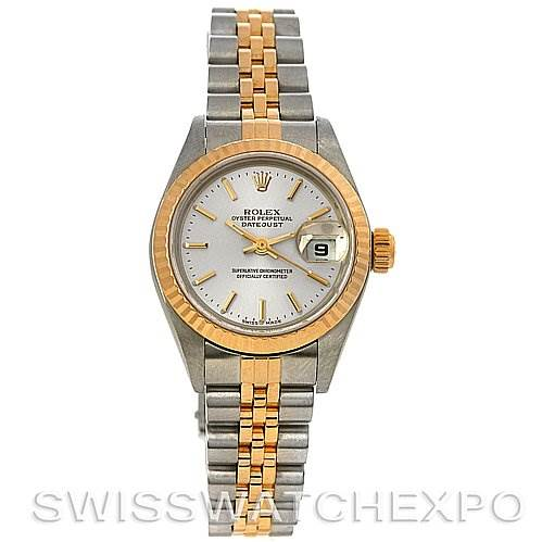 2471 Rolex Datejust Ladies Steel 18k Yellow Gold 79173 SwissWatchExpo