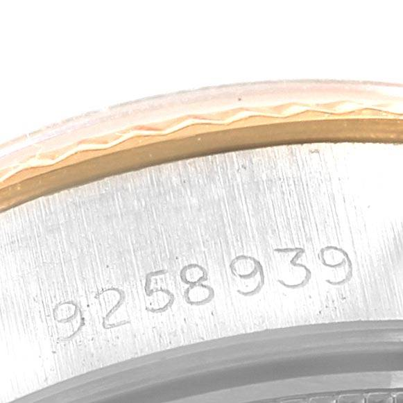 21895 Rolex Datejust 26 Steel Yellow Gold Jubilee Ladies Women Watch 69173 SwissWatchExpo