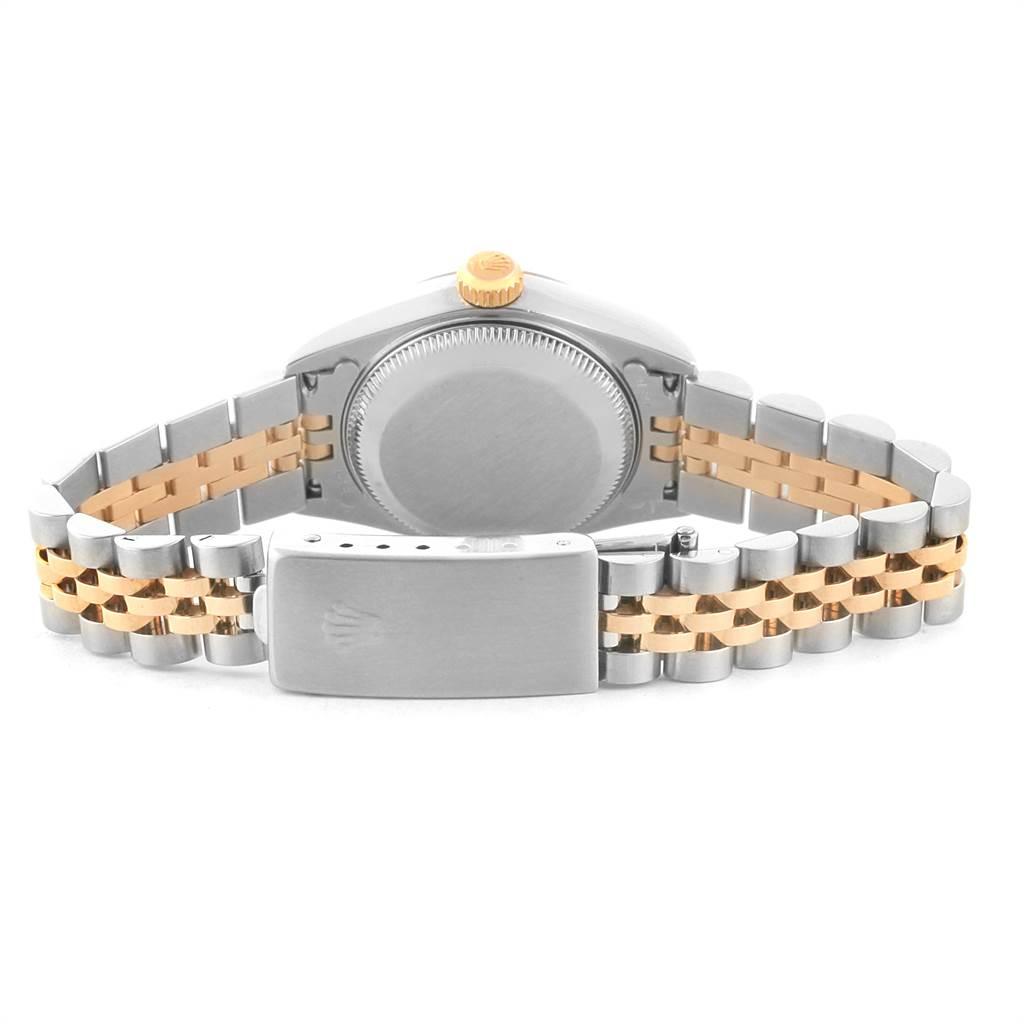 22418 Rolex Datejust Steel Yellow Gold Diamond Ladies Watch 79173 Box Papers SwissWatchExpo