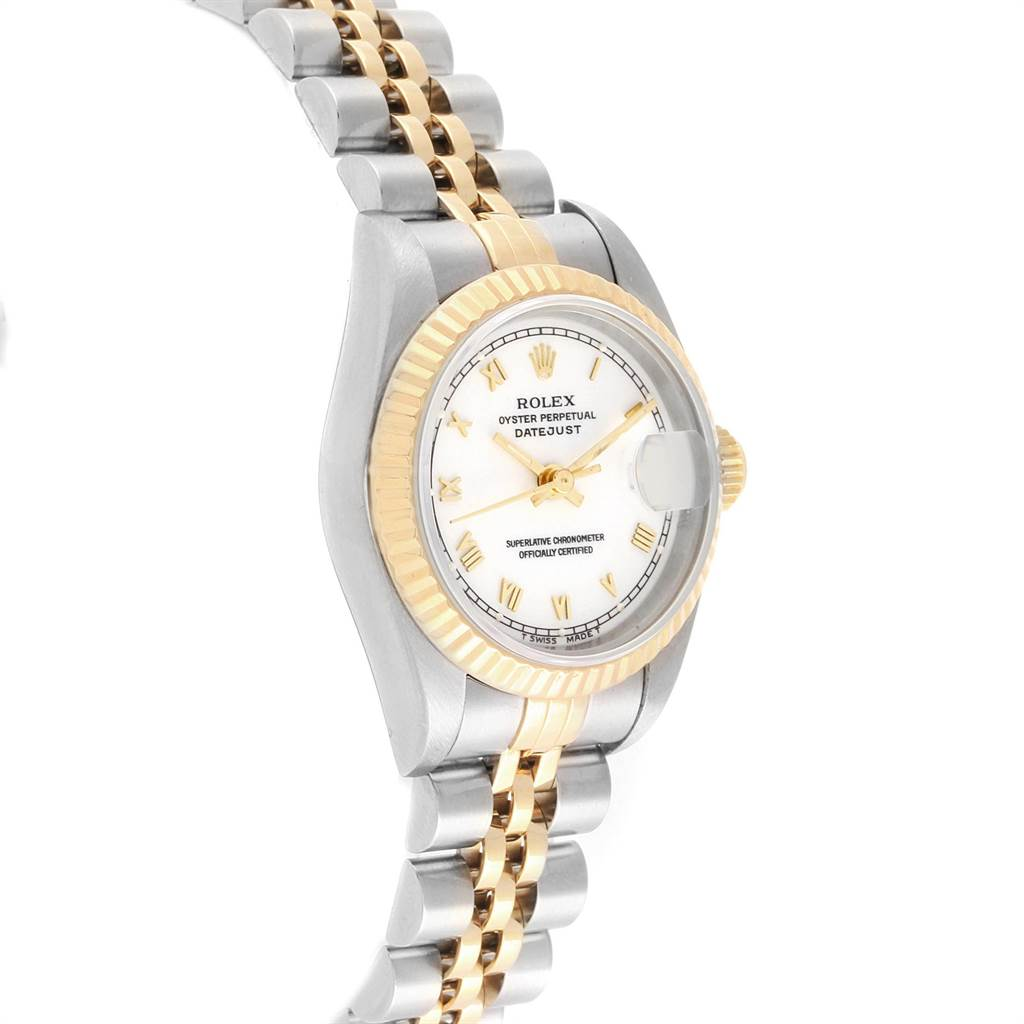 22368 Rolex Datejust 26mm Steel Yellow Gold Ladies Watch 69173 Box Papers SwissWatchExpo