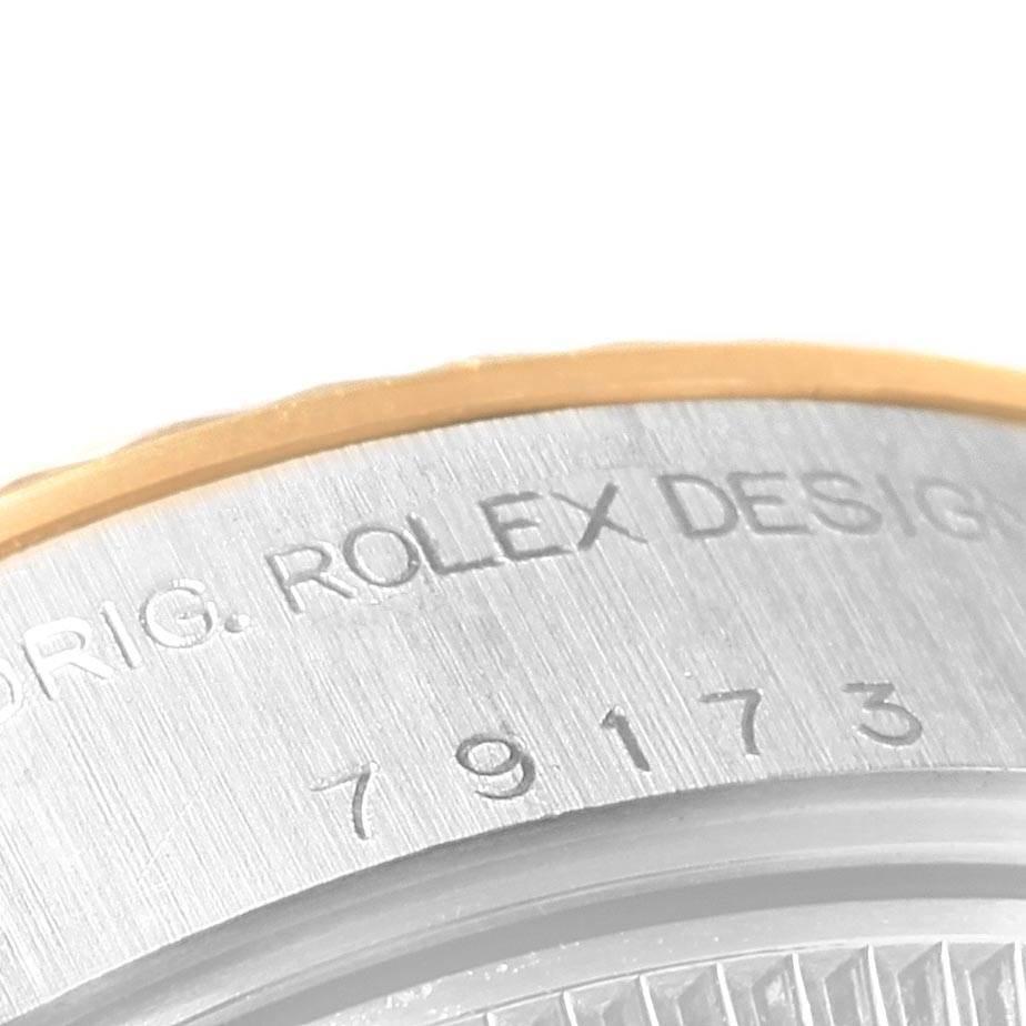 Rolex Datejust Steel Yellow Gold Roman Dial Ladies Watch 79173 SwissWatchExpo