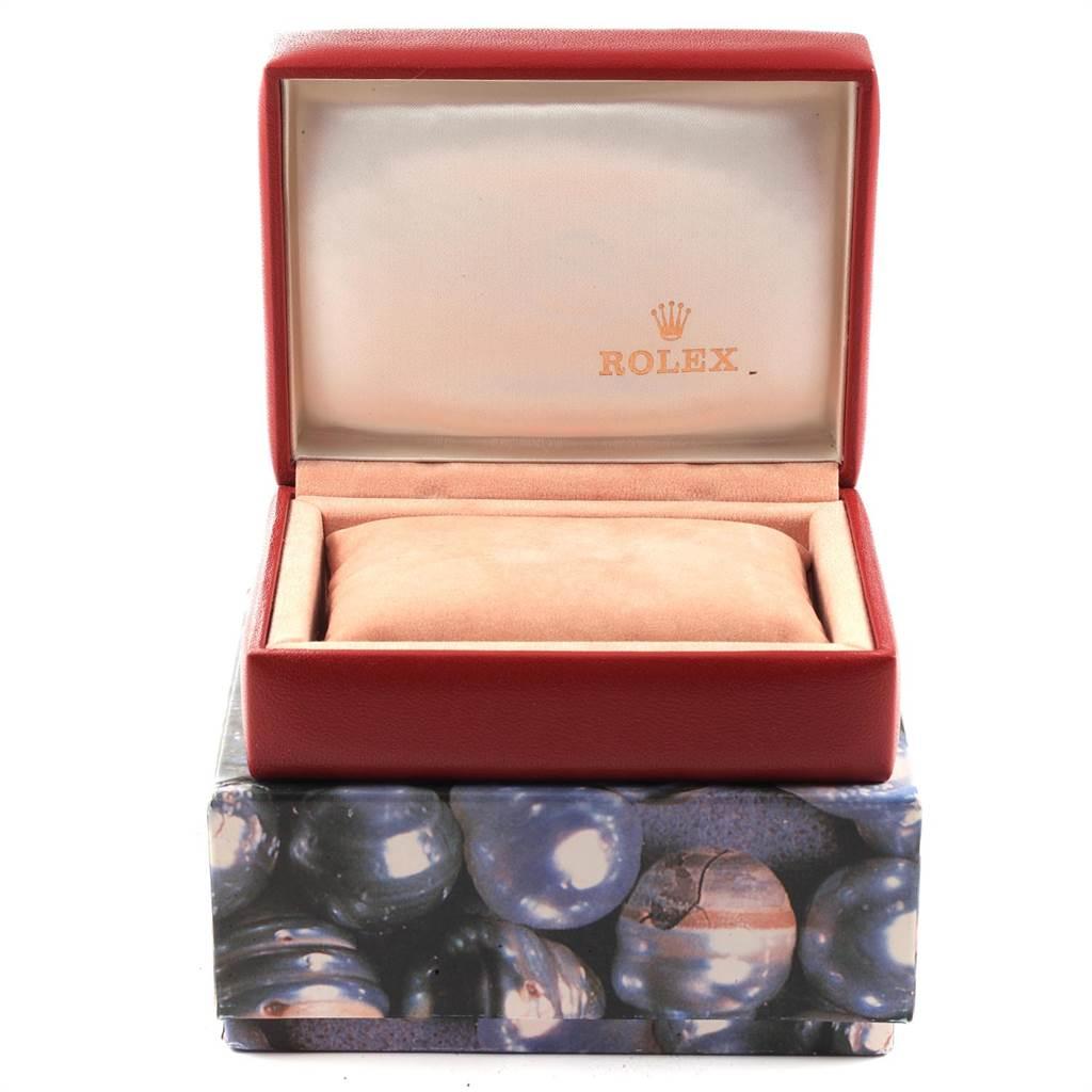 Rolex Datejust Steel White Gold Silver Diamond Dial Ladies Watch 79174 SwissWatchExpo