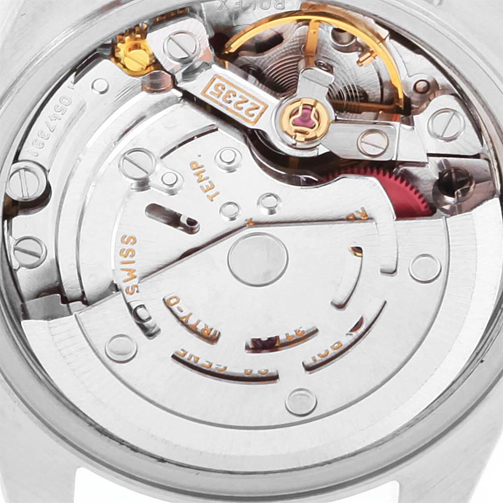 22526 Rolex Datejust 26 Steel White Gold Roman Dial Ladies Watch 79174 SwissWatchExpo