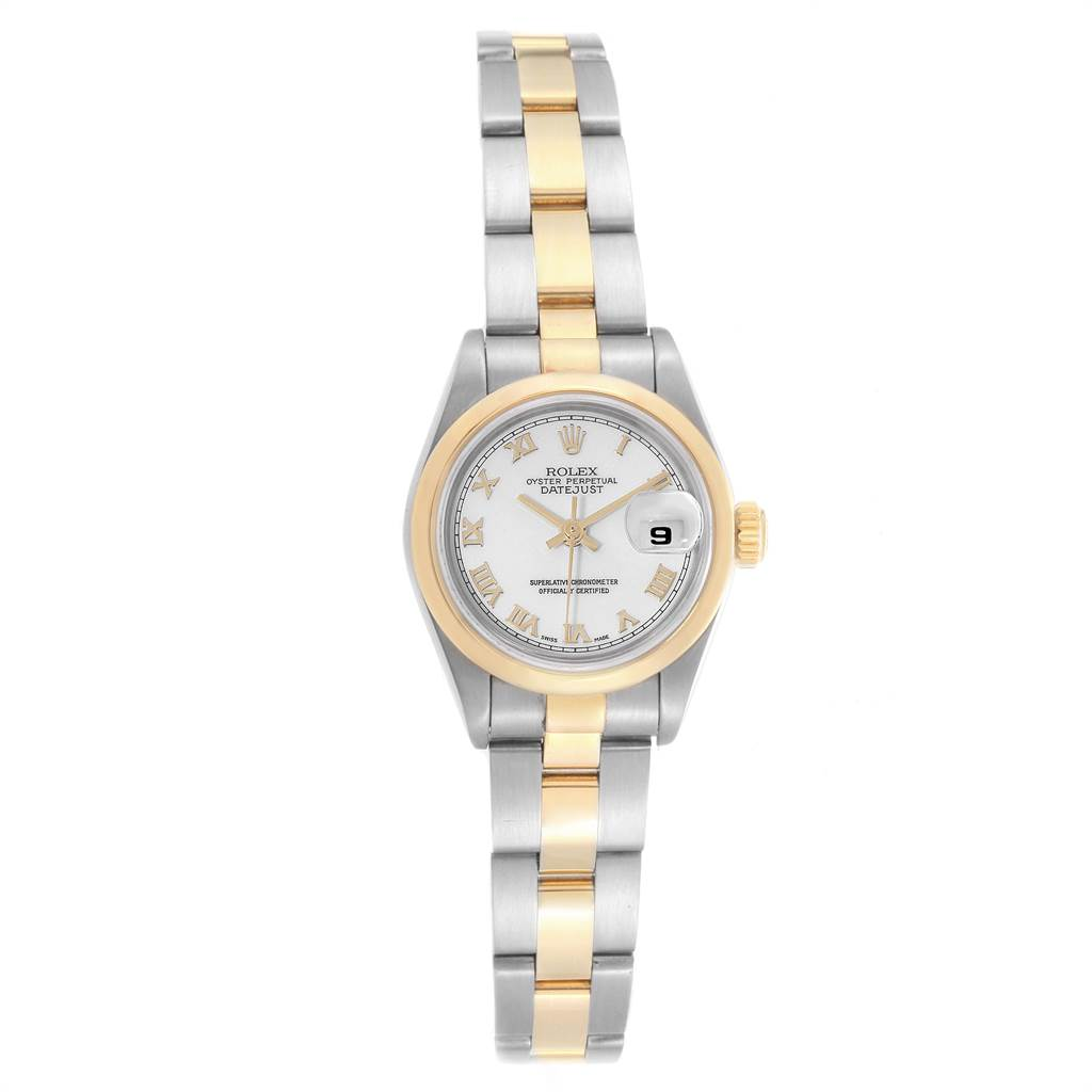 ad313b40b1d ... 23065 Rolex Datejust Steel Yellow Gold White Dial Ladies Watch 69163  SwissWatchExpo ...
