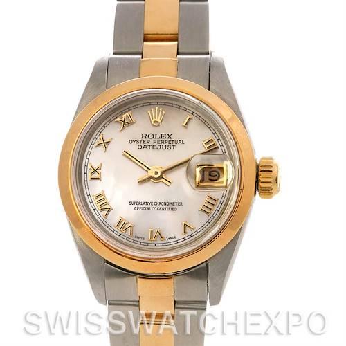 Photo of Rolex Datejust Ladies Ss & 18k Yellow Gold Watch 69163