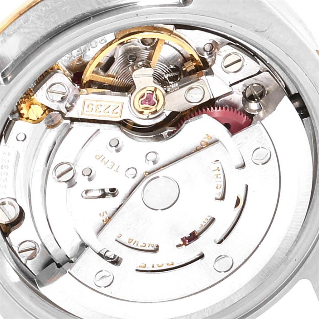 23677 Rolex Datejust Steel Yellow Gold Diamond Ladies Watch 179173 Box Card SwissWatchExpo