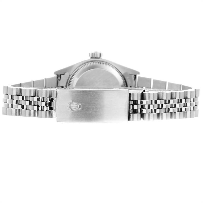 Rolex Datejust 26 Steel White Gold Roman Dial Ladies Watch 79174 SwissWatchExpo