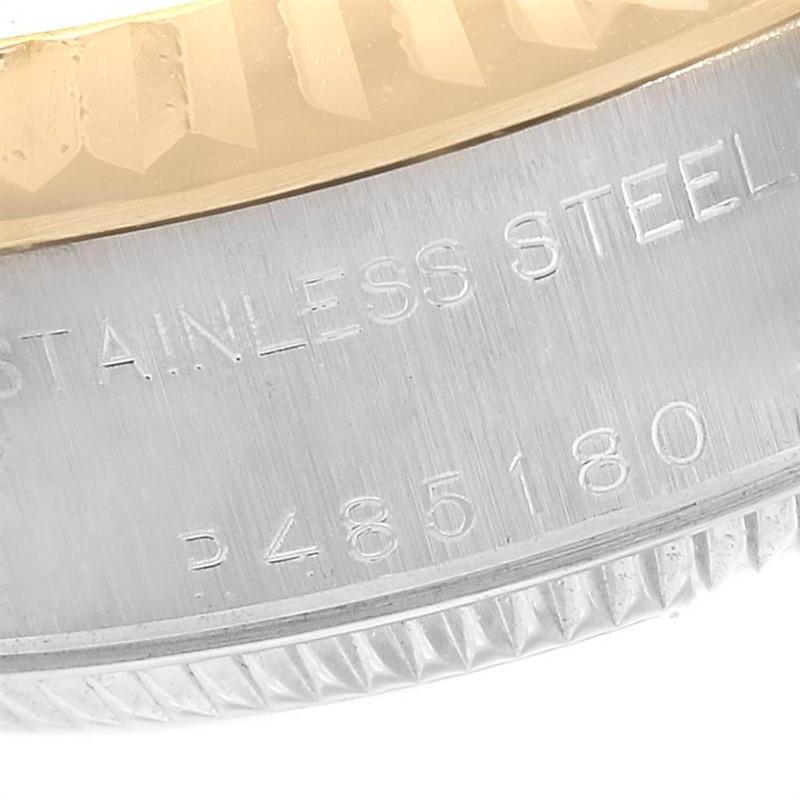 Rolex Datejust Steel Yellow Gold Slate Roman Dial Ladies Watch 79173 SwissWatchExpo