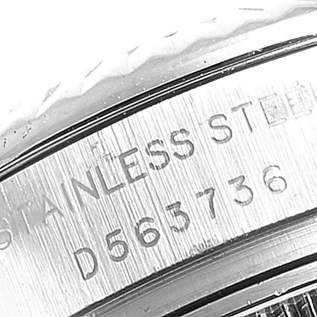 24253 Rolex Datejust Steel White Gold Rhodium Roman Dial Ladies Watch 179174 SwissWatchExpo