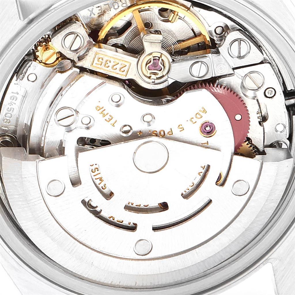 Rolex Datejust 26 Steel White Gold Rhodium Dial Ladies Watch 79174 SwissWatchExpo