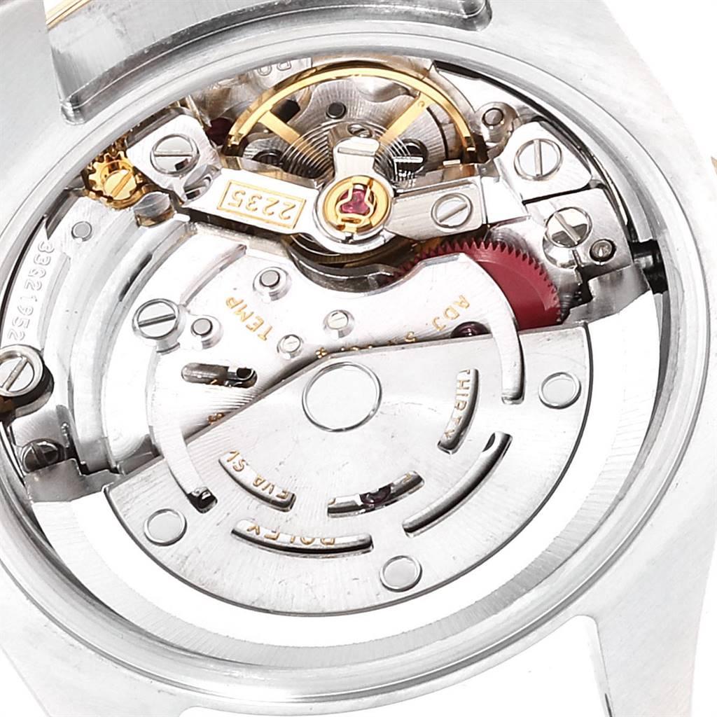 Rolex Datejust Steel Yellow Gold Diamond Ladies Watch 179163 Box Card SwissWatchExpo