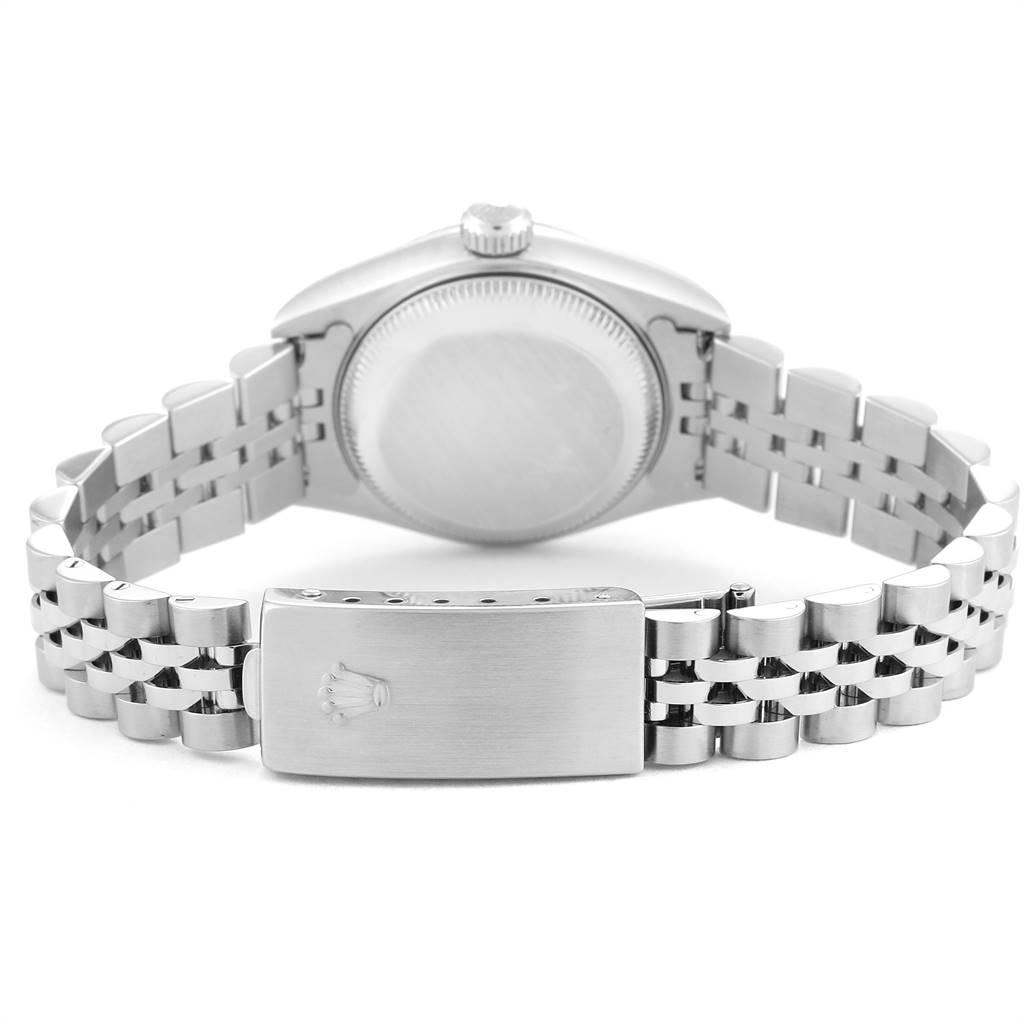 Rolex Datejust Steel White Gold Diamond Ladies Watch 79174 Box Papers SwissWatchExpo