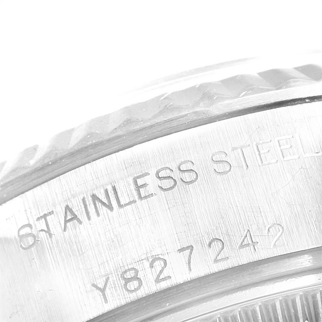 24898 Rolex Datejust 26 Steel White Gold Salmon Dial Ladies Watch 79174 SwissWatchExpo