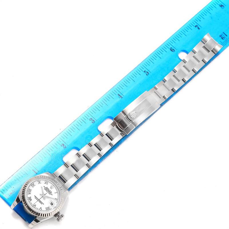 Rolex Datejust 26 Steel White Gold Oyster Bracelet Ladies Watch 179174 SwissWatchExpo