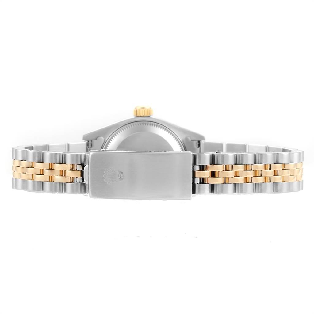 Rolex Datejust Steel Yellow Gold Jubilee Dial Ladies Watch 69173 Box Papers SwissWatchExpo