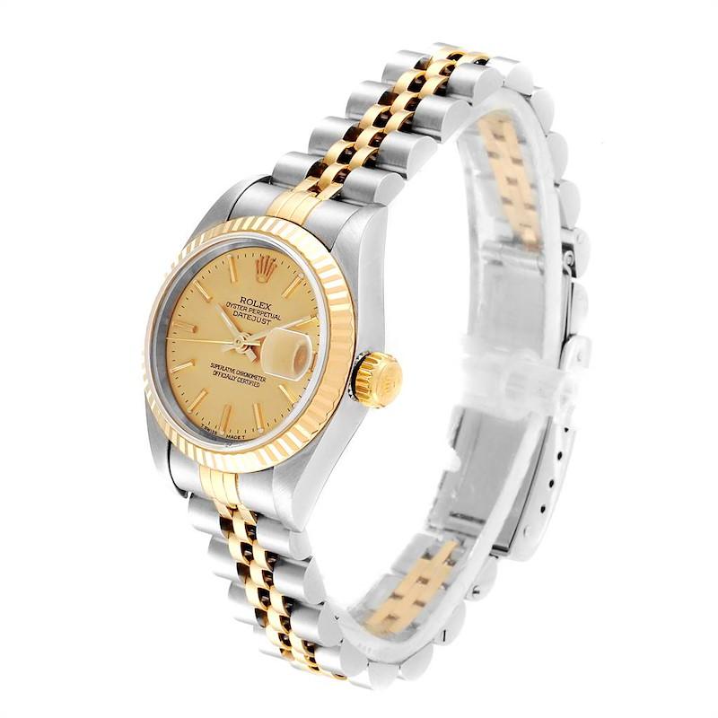 Rolex Datejust Steel Yellow Gold Jubilee Bracelet Ladies Ladies Watch 69173 SwissWatchExpo