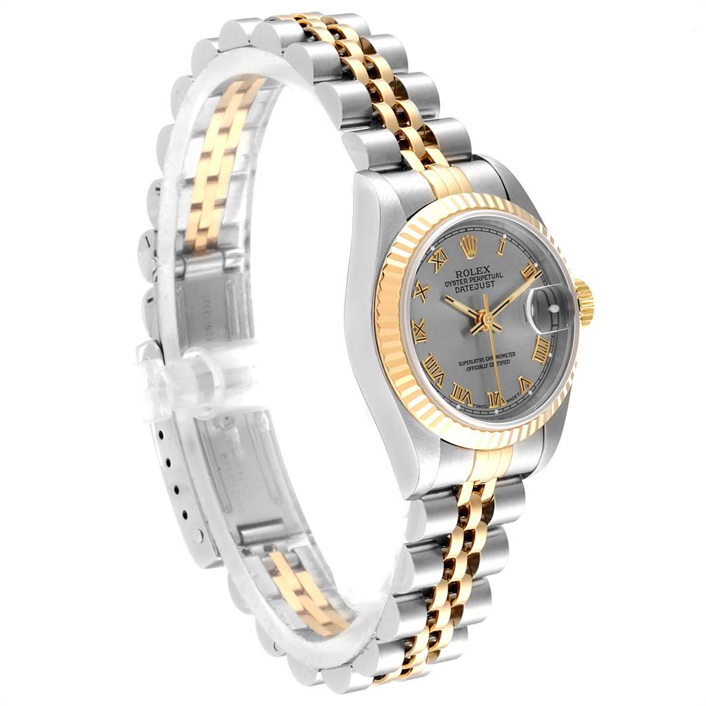 Rolex Datejust Steel Yellow Gold Ladies Watch 69173 Box Papers SwissWatchExpo