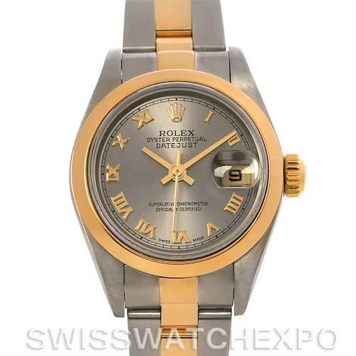 Photo of Rolex Datejust Ladies Ss & 18k Yellow Gold Watch 79163