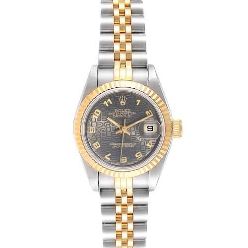 Photo of Rolex Datejust Steel Yellow Gold Jubilee Dial Ladies Watch 69173 Unworn