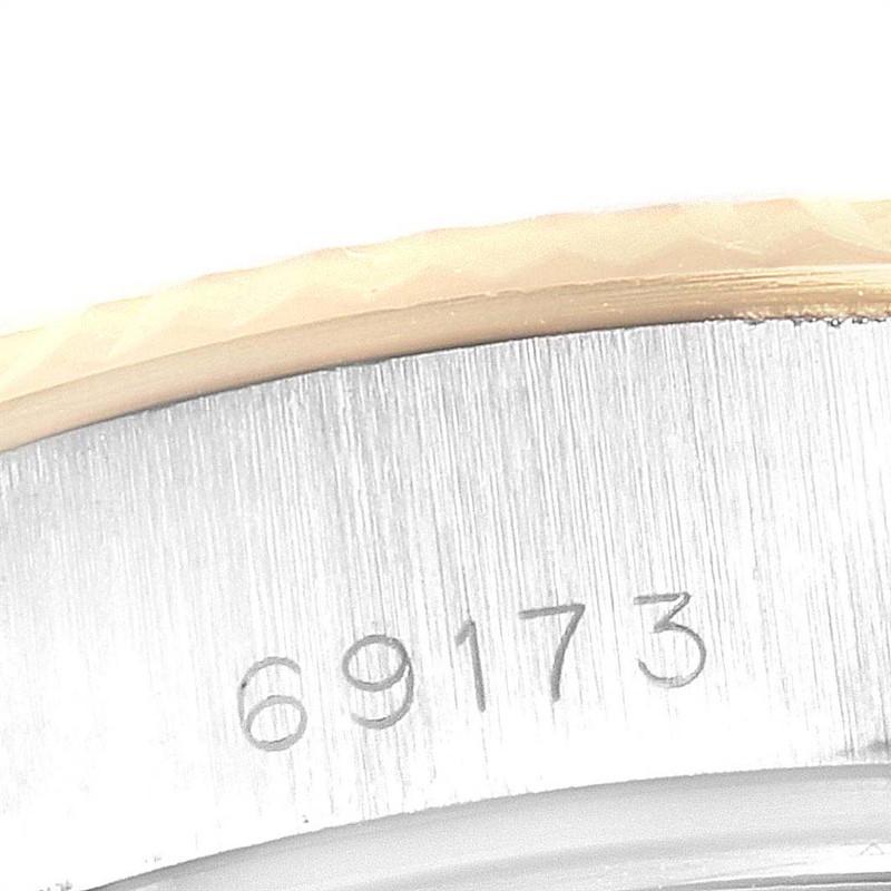 Rolex Datejust 26 Steel Yellow Gold Diamond Dial Ladies Watch 69173 SwissWatchExpo