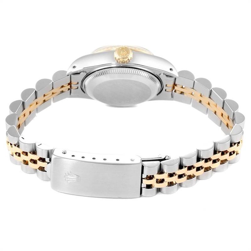 Rolex Datejust Steel Yellow Gold Ladies Watch 69173 Box Papers SwissWatchExpo